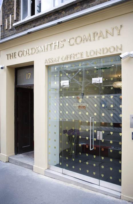 Goldsmiths Company Assay Office In London Goldsmiths