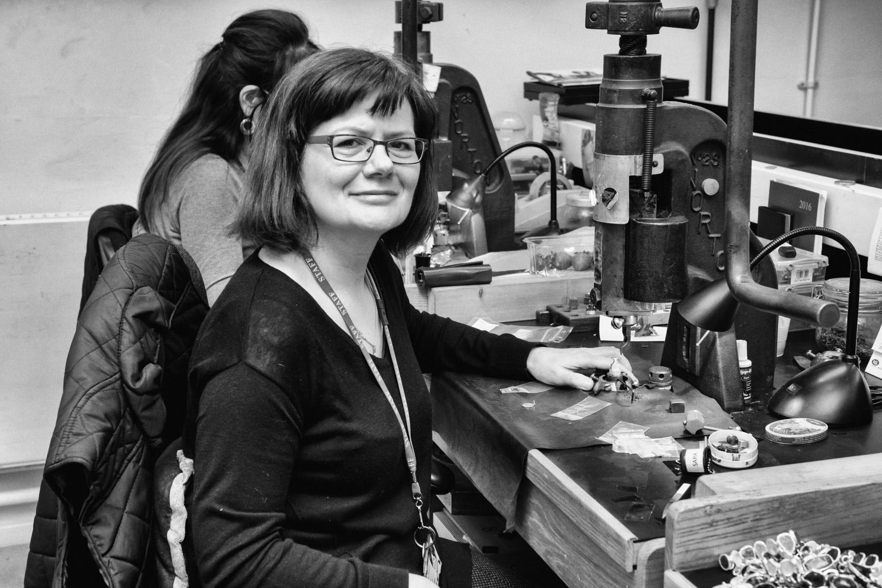 Sara Morrison - Supervisor, Pressmarking