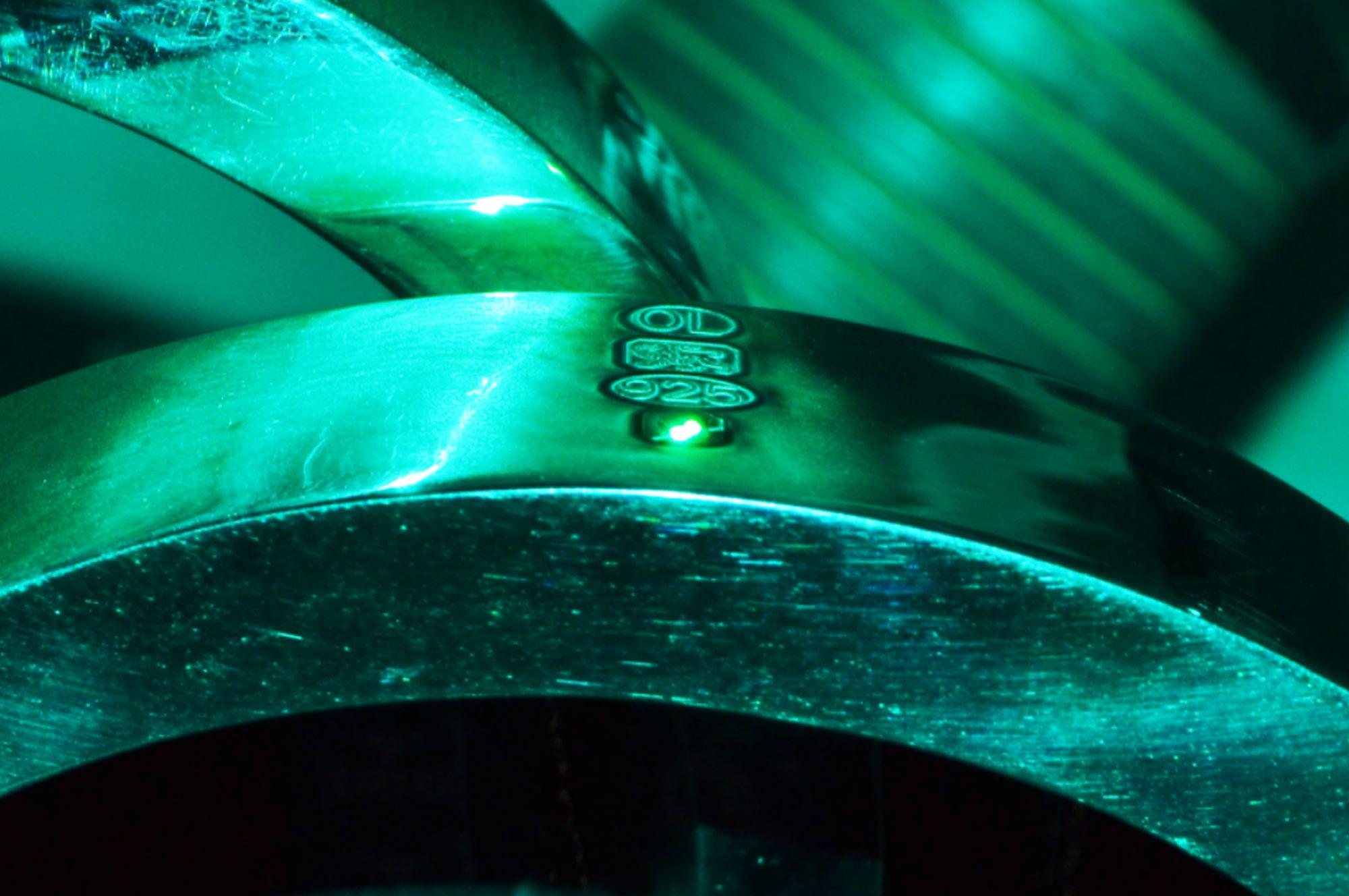 Silver inside laser unit